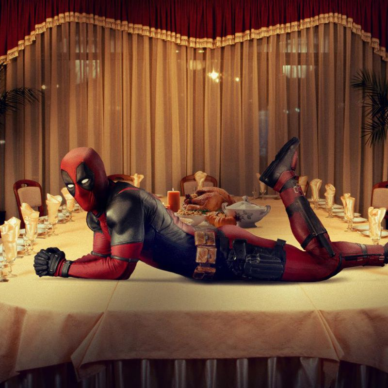 Deadpool fourre la dinde