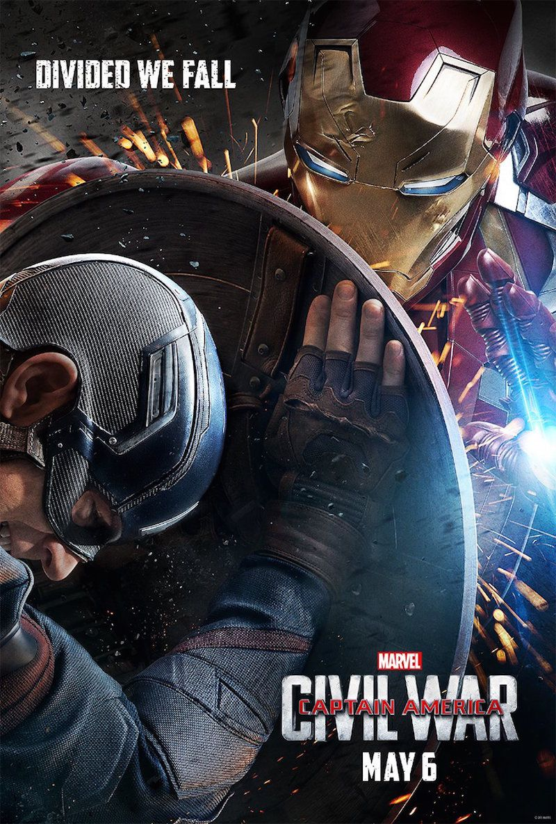 Captain america Civil War : posters + screenshots du trailer