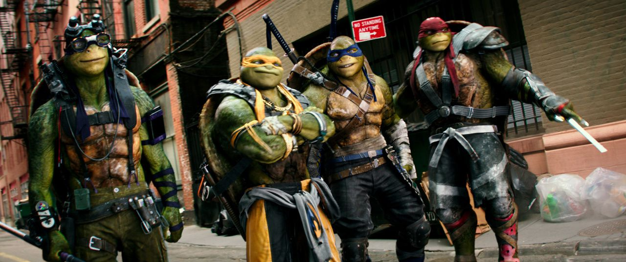Ninja Turtles : Out of the shadows : trailer