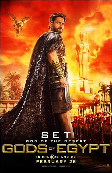 Gods Of Egypt : Trailer &amp&#x3B; Posters