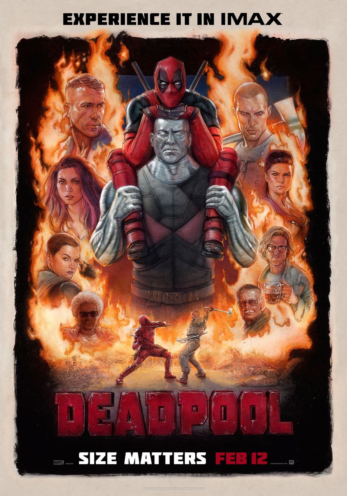 Deadpool : surprises 9,10,11 et Colossus