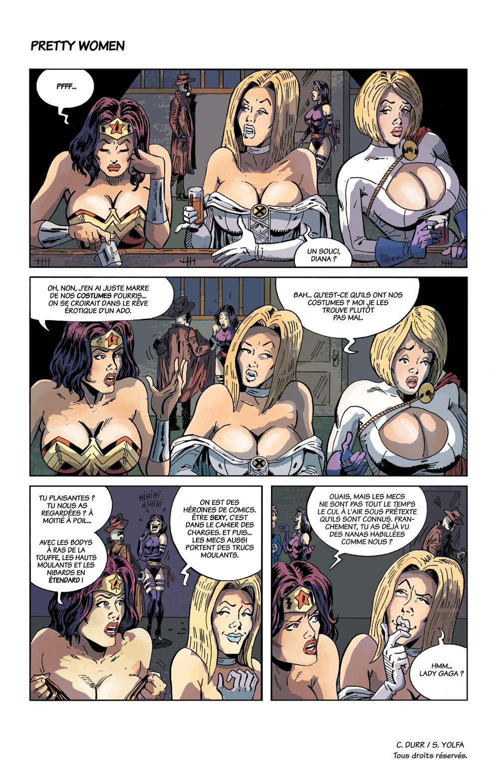 The Gutter : les super-héros parodiés