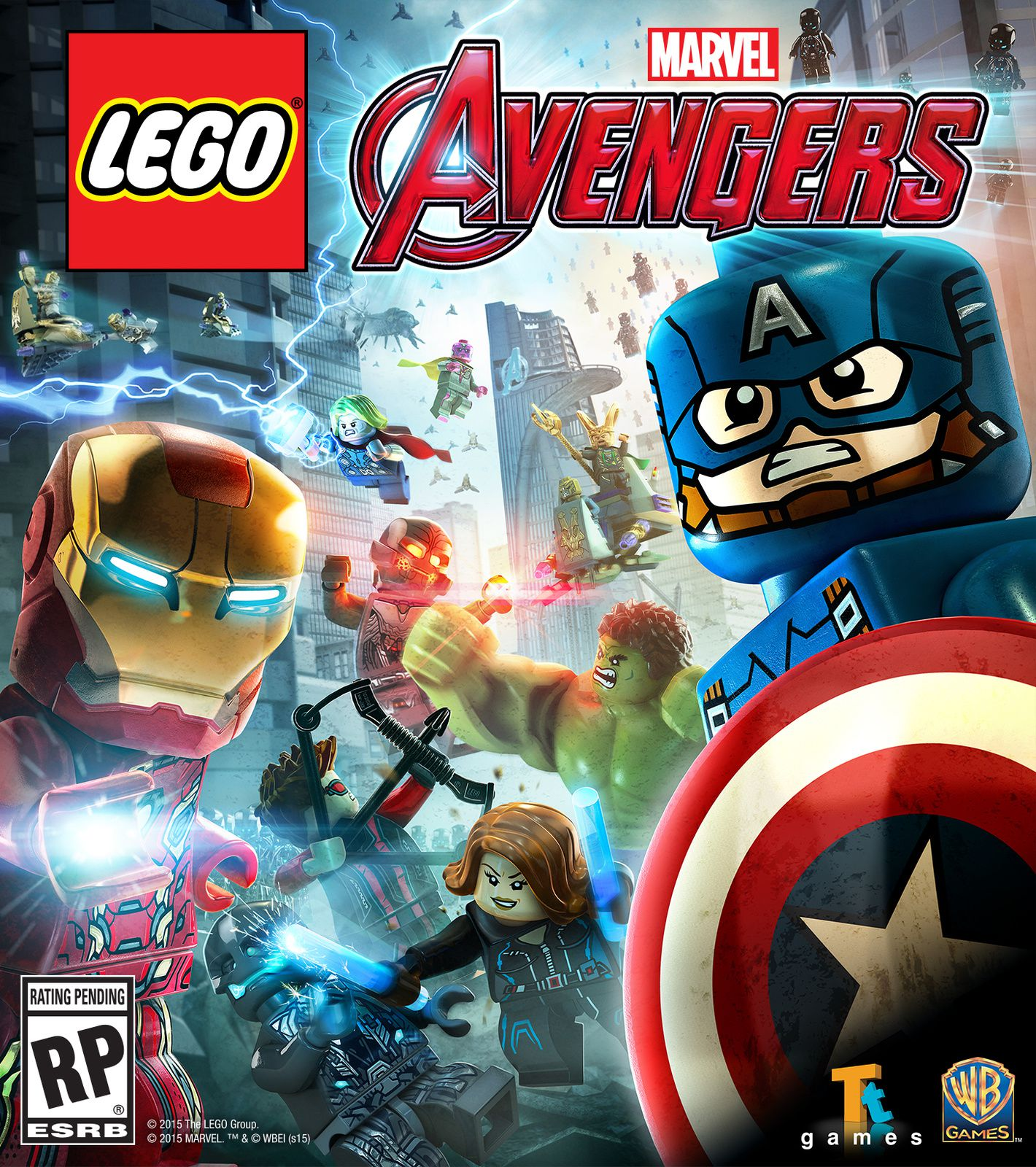 Lego Avengers : Launch Trailer