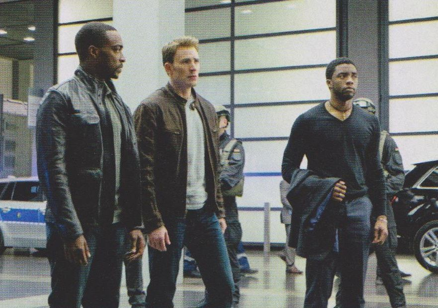 Captain America  Civil War : Empire + photos