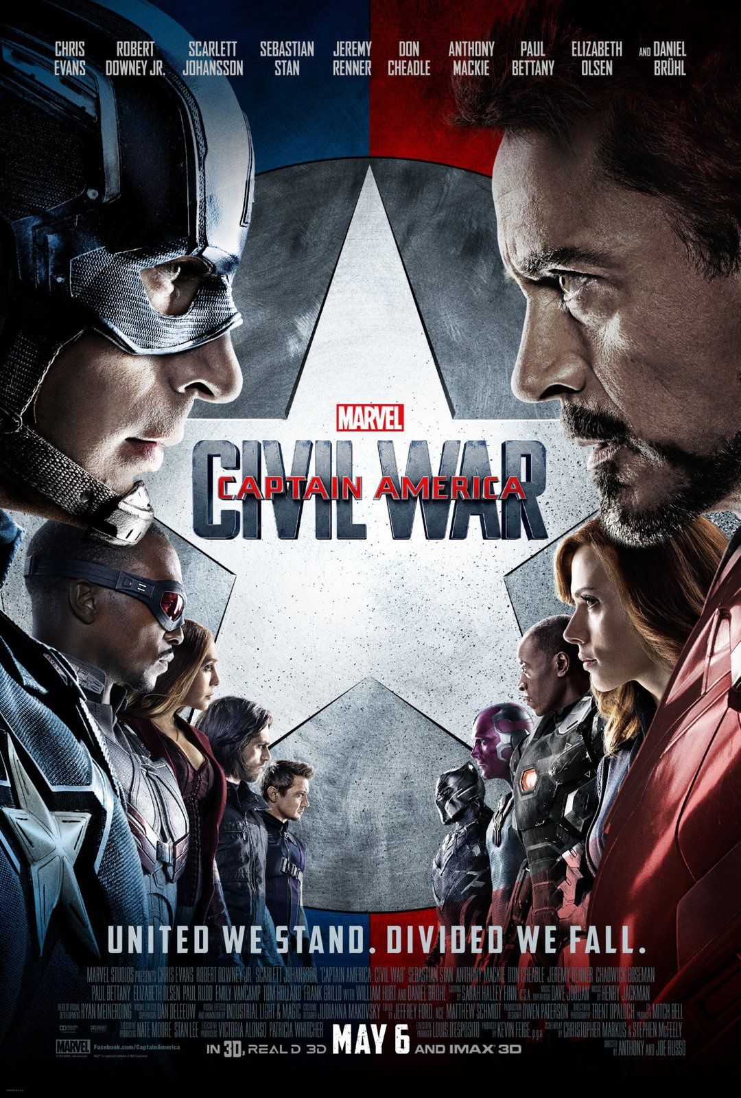 Captain America : Civil War : new Trailer VF