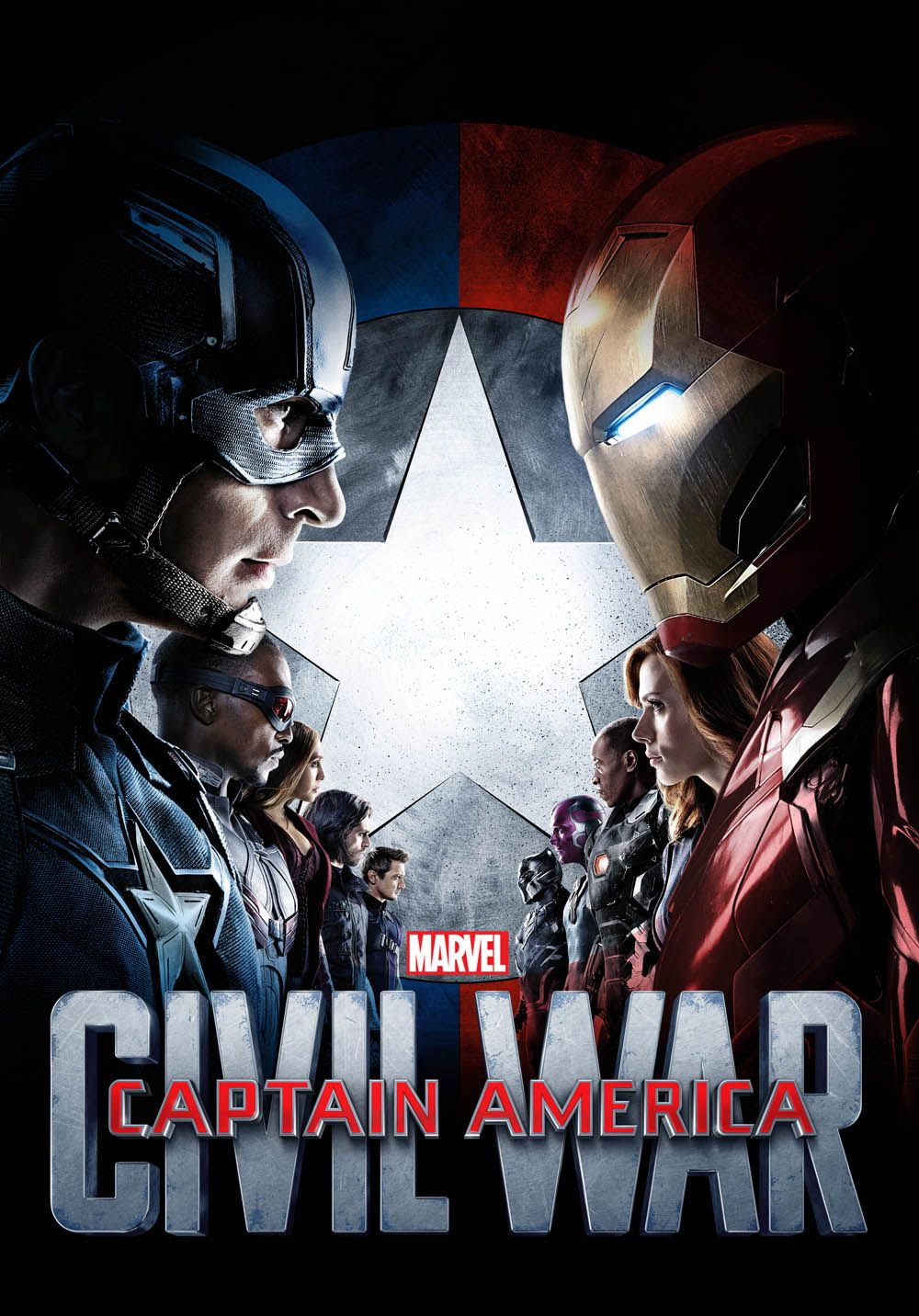 Captain America : Civil War : New poster