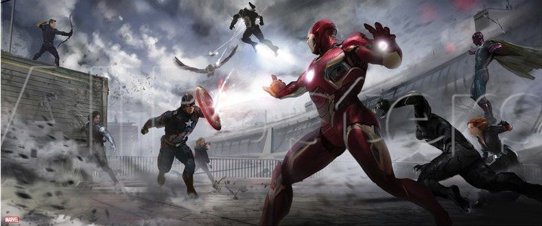 Captain America : Civil War : Concept-arts