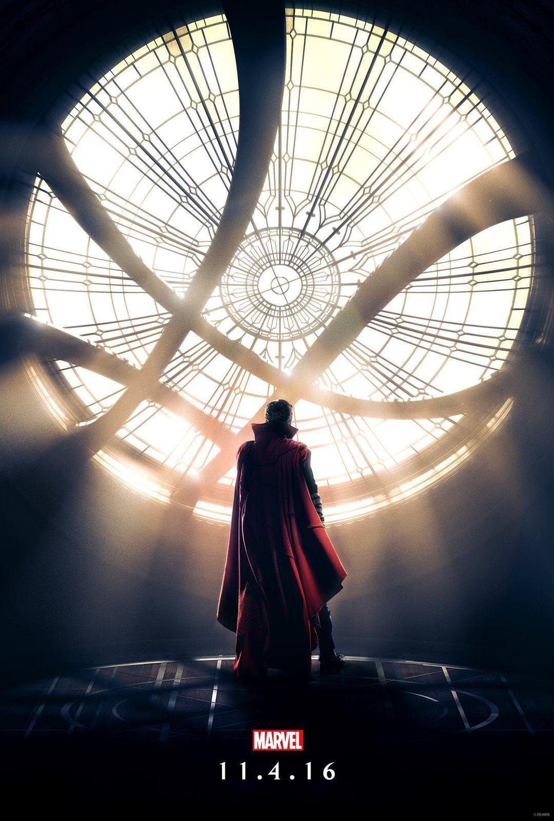 Dr Strange : 1° Trailer + 2 posters