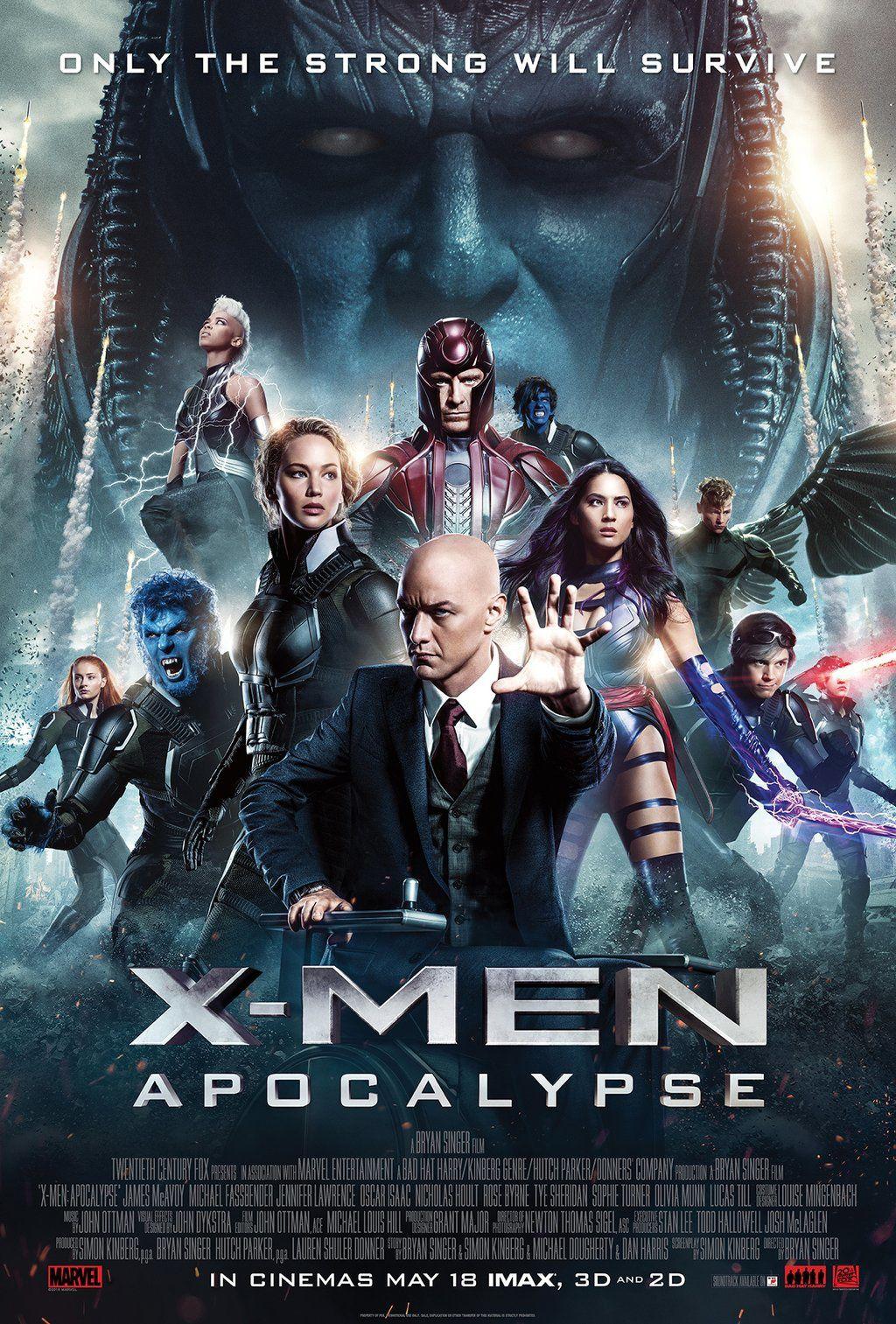 X-Men : Apocalypse : new final poster + 12 posters de persos