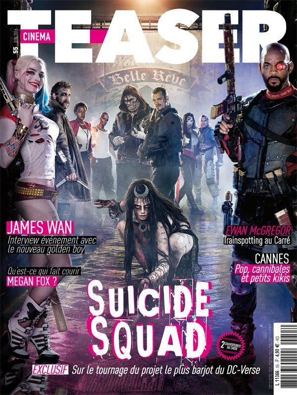 Suicide Squad : Série de posters