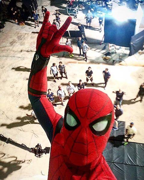 Spider-Man : Homecoming : selfie