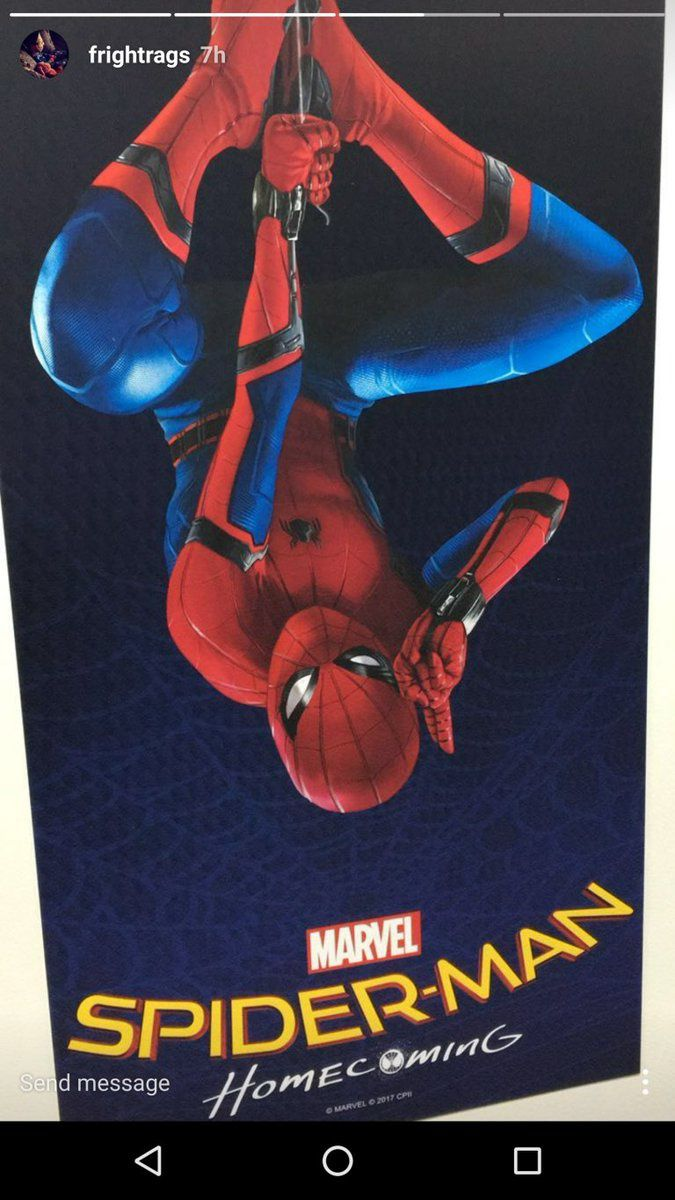 Spider-Man : Homecoming : 1° poster non officiel