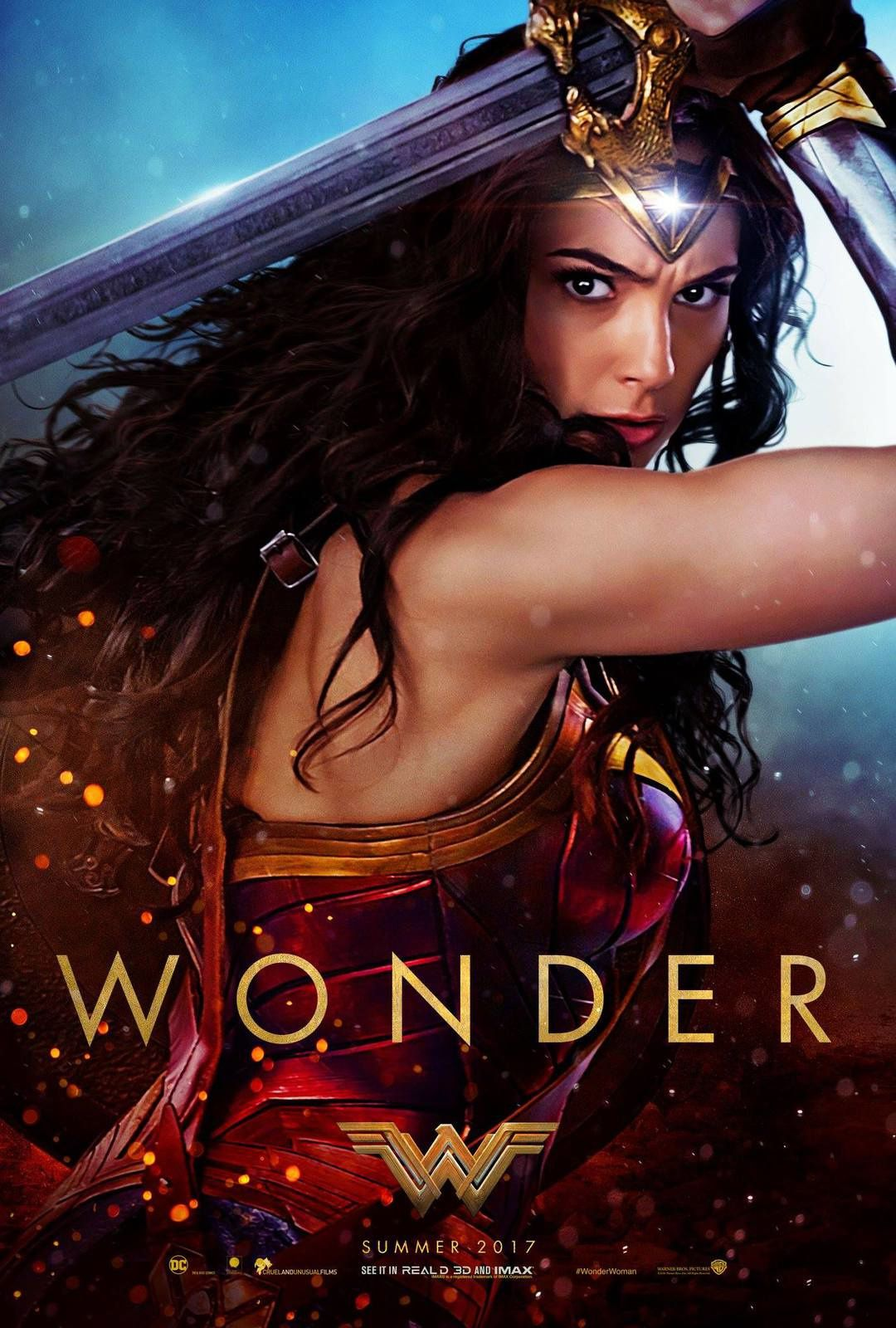 Wonder Woman : new trailer + 3 posters