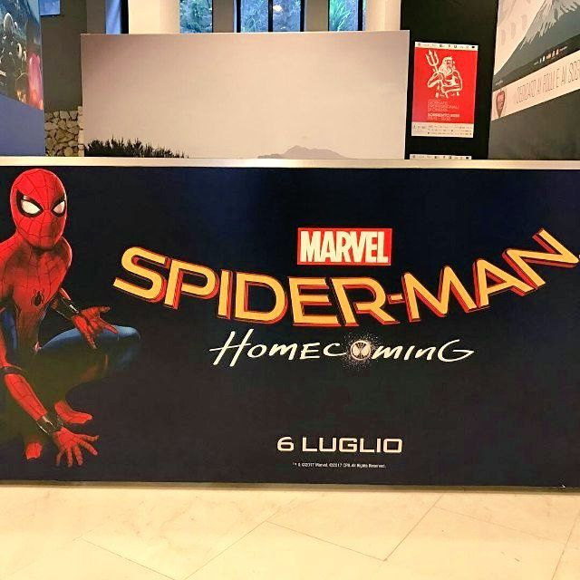 Spider-Man : Homecoming : premier poster bannière
