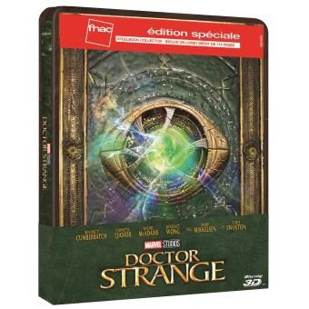 Dr Strange : Steelbook : visuel définitif + sortie