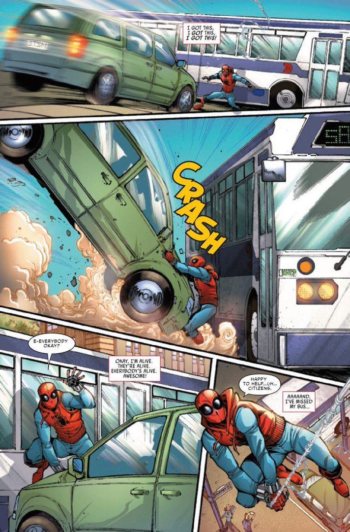 spider-man : homecoming : comics prelude