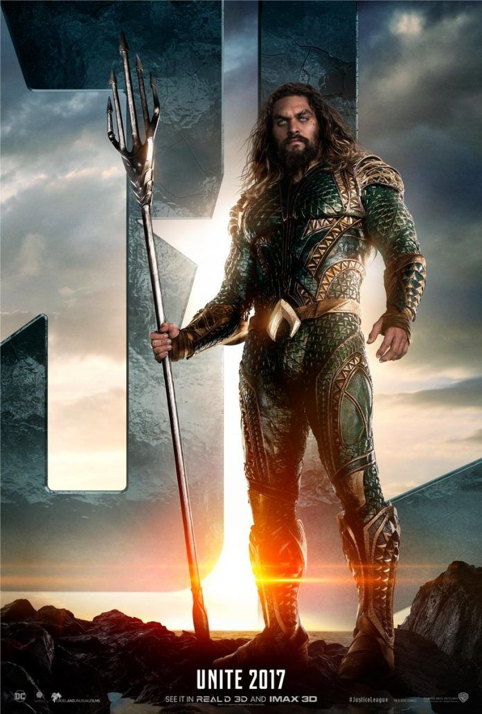 Justice League : Aquaman, Batman et Flash en posters