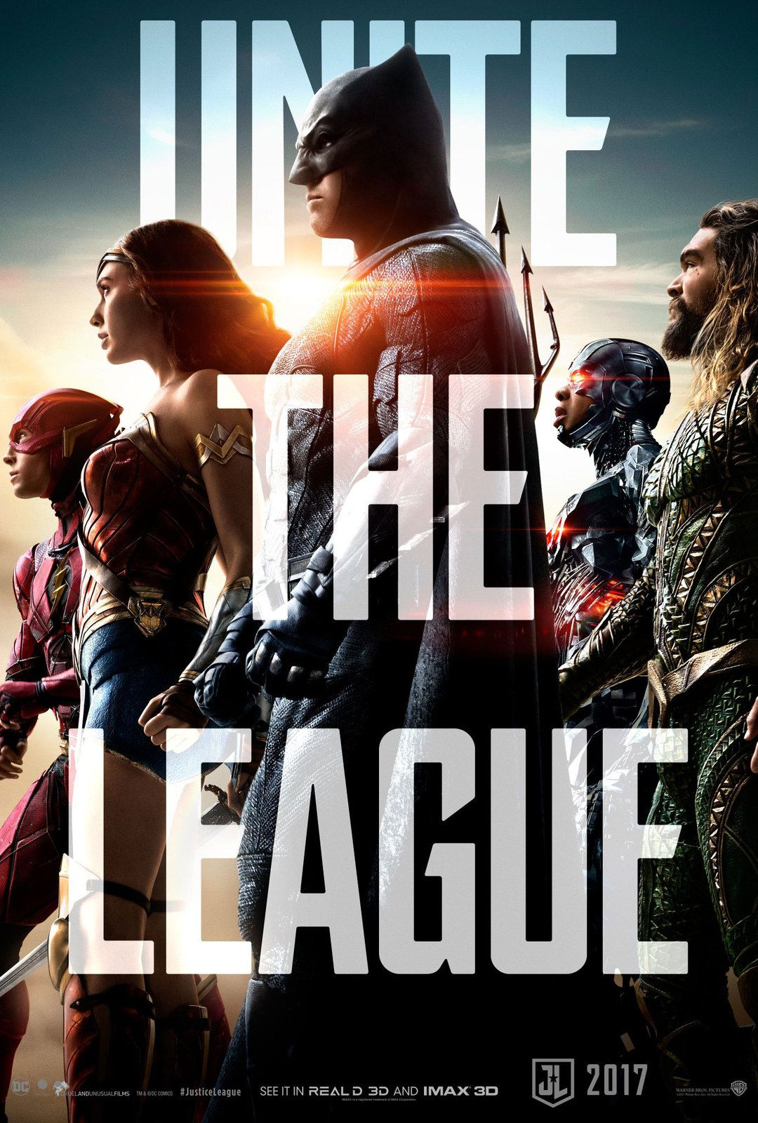 justice League : nouveau poster