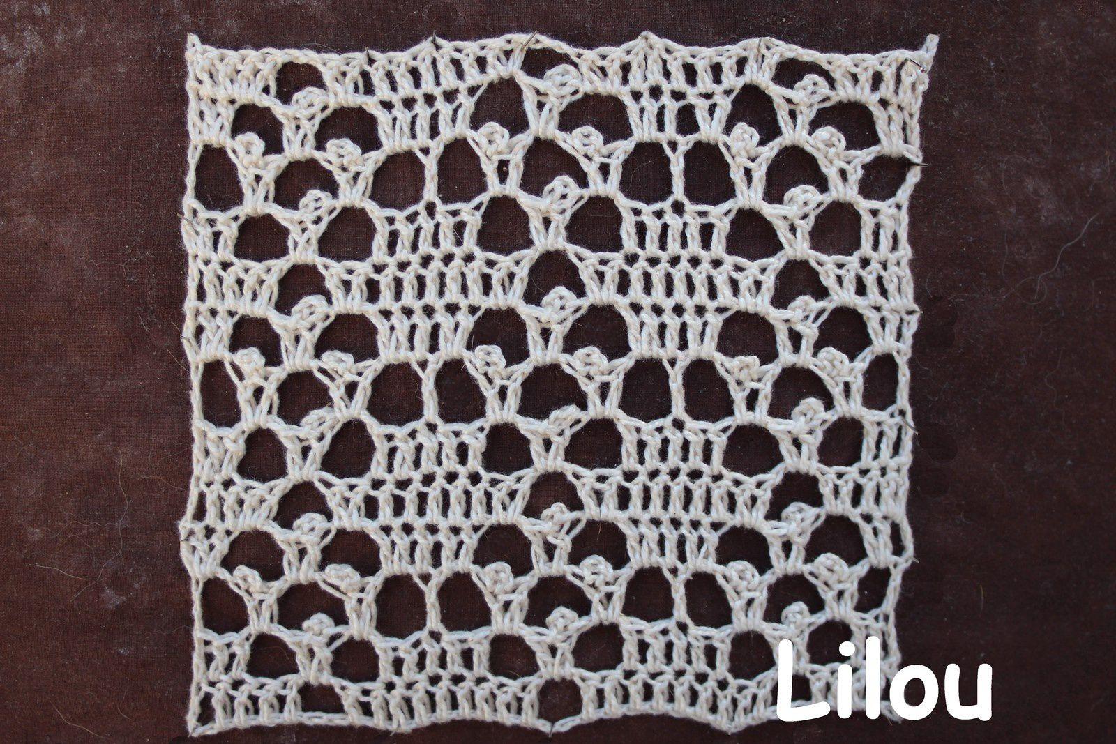 Dico de points au crochet 16 DIY modèle tuto gratuit