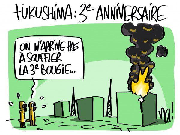 Anniversaire sans célébration à Fukushima