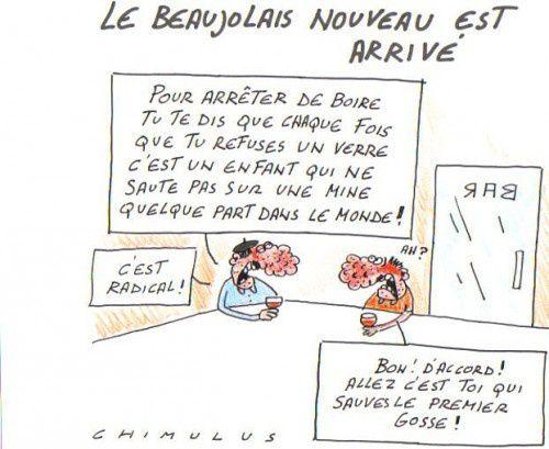 Beaujolais nouveau, tradition oblige...