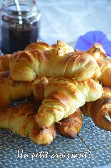 Des croissants maison pour le brunch du week-end
