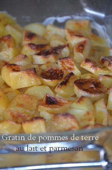 gratin de pommes de terre au lait et parmesan cuit l 39 omnicuiseur le blog de c 39 est nathalie. Black Bedroom Furniture Sets. Home Design Ideas