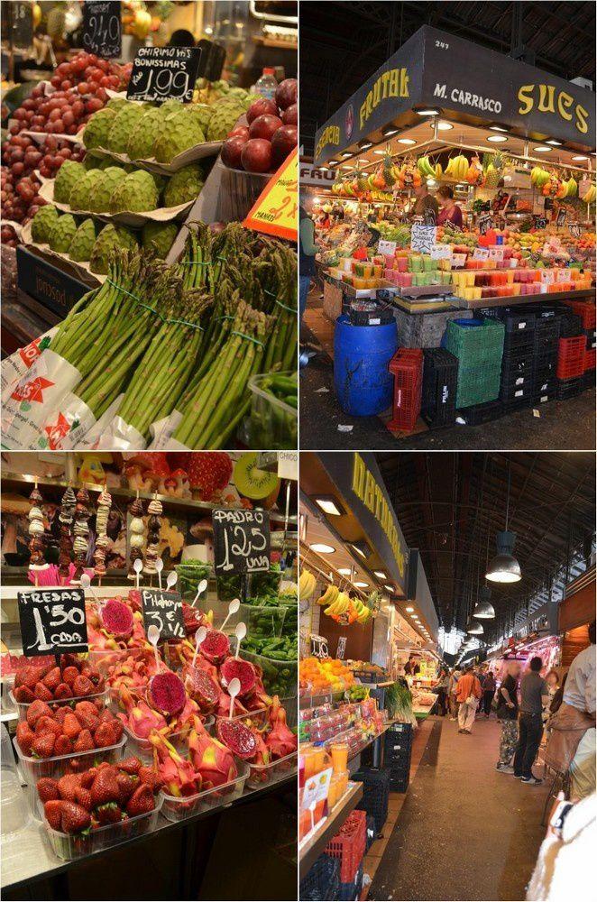 Mon riz au safran et balade sur le marché de la Boqueria {Barcelone}