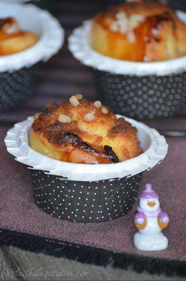 Cupcakes feuilletés des rois à la crème d'amande