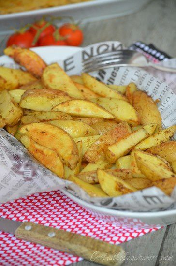 Potatoes ou frites au four