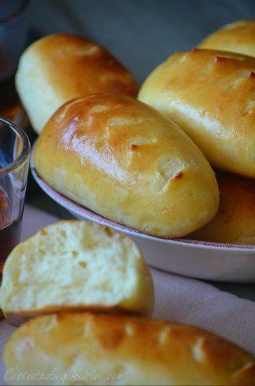 Petits pains tout moelleux au yaourt