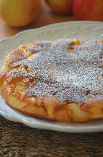 gâteau aux pommes à la poêlepratique, rapide, surprenant