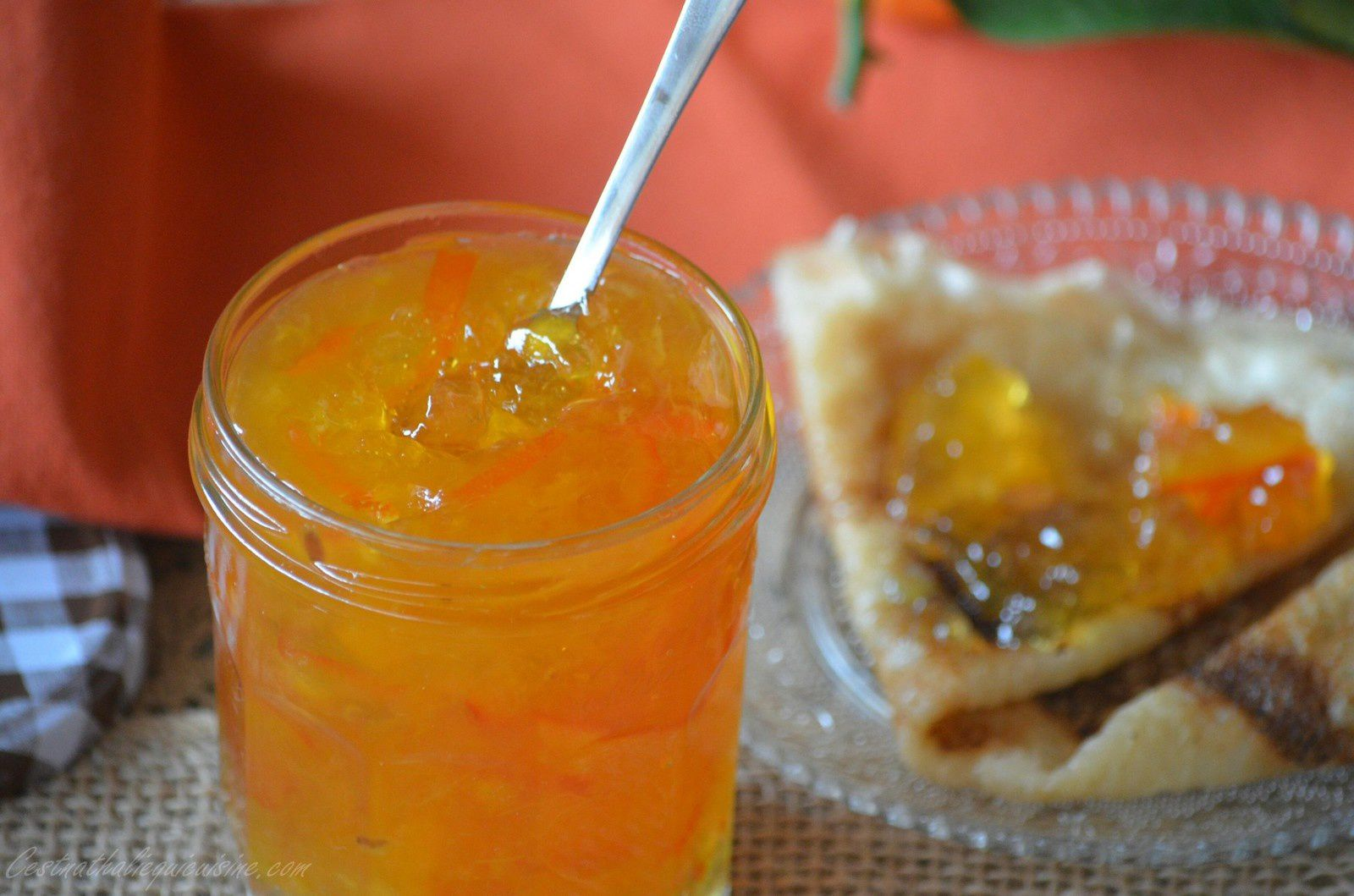 Marmelade d'orange amère