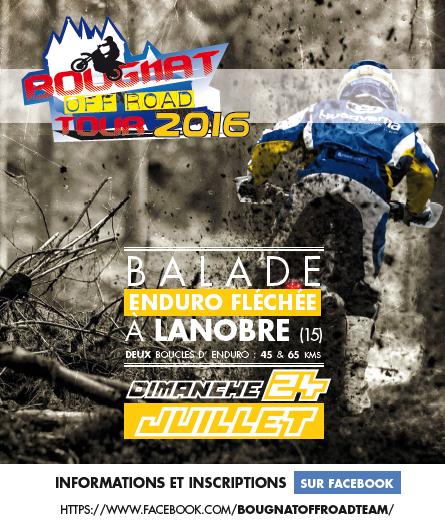 Balade Enduro à Lanobre du Bougnat Off Road Team (15), le 24 juillet 2016