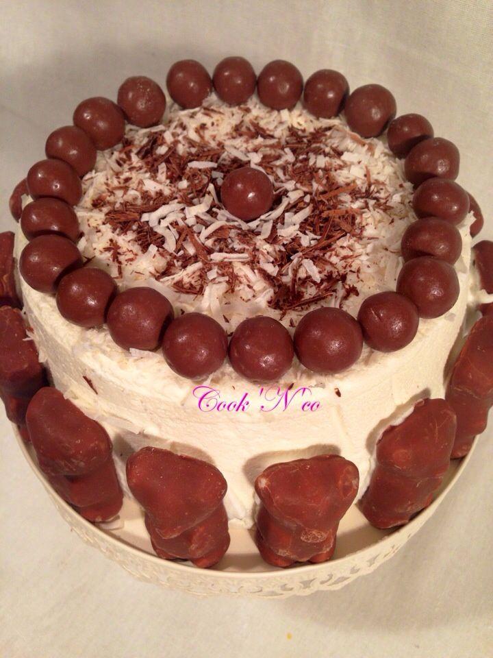 Charlotte au chocolat blanc et coco (pour 6 personnes)