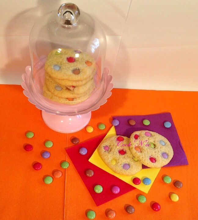 Cookies aux smarties (pour une douzaine)