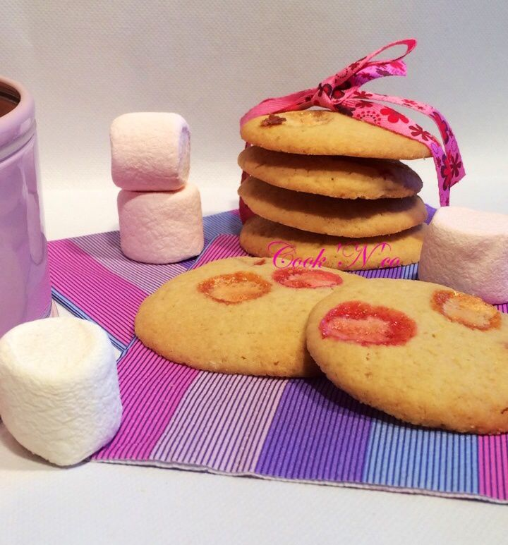 Cookies aux Chamallows (pour environ 25 cookies)