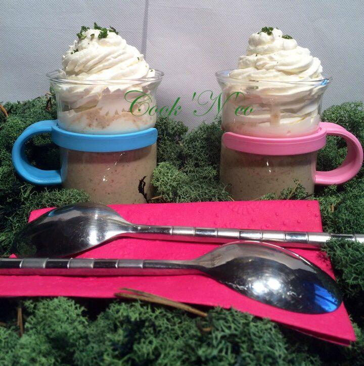 Cappuccino de cèpes (pour 2 grandes tasses)