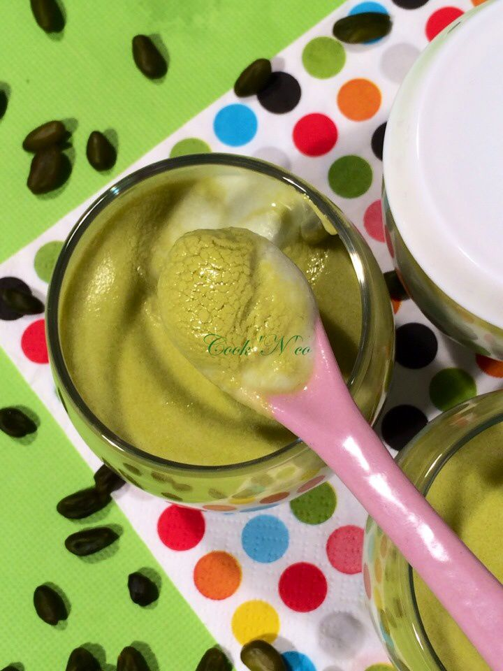 Yaourts à la pistache (pour 7 yaourts)