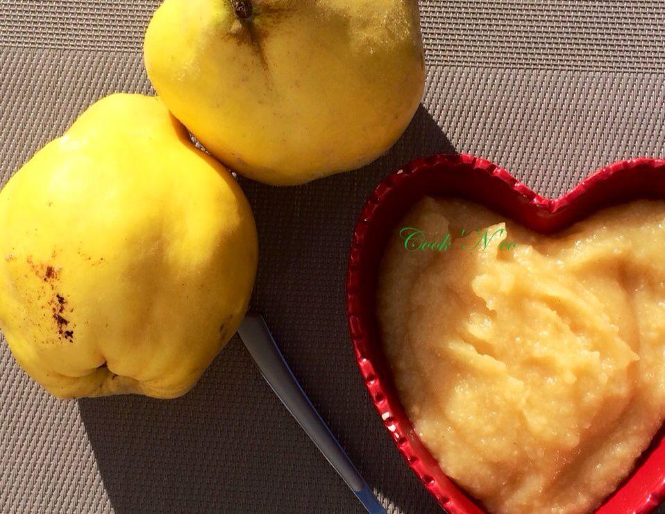 Compote pomme/coing (pour 4 à 6 personnes)
