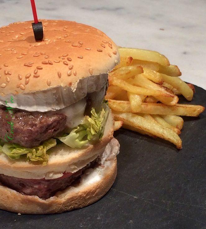 Double burger au chèvre (pour un burger)