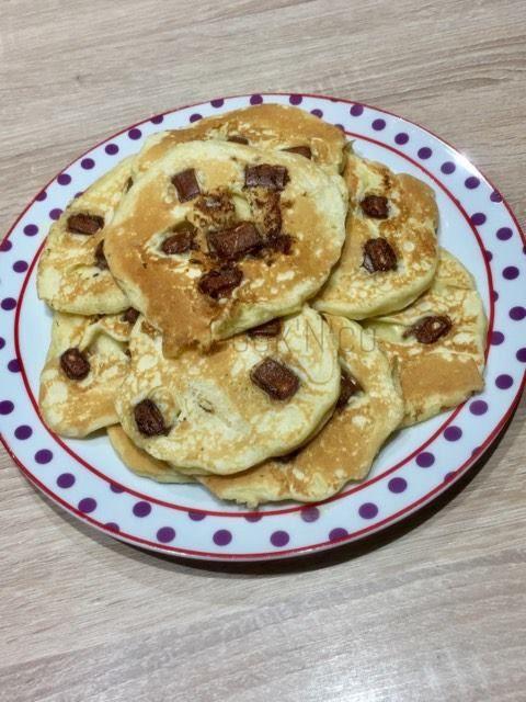 Pancakes aux Kinder Maxi