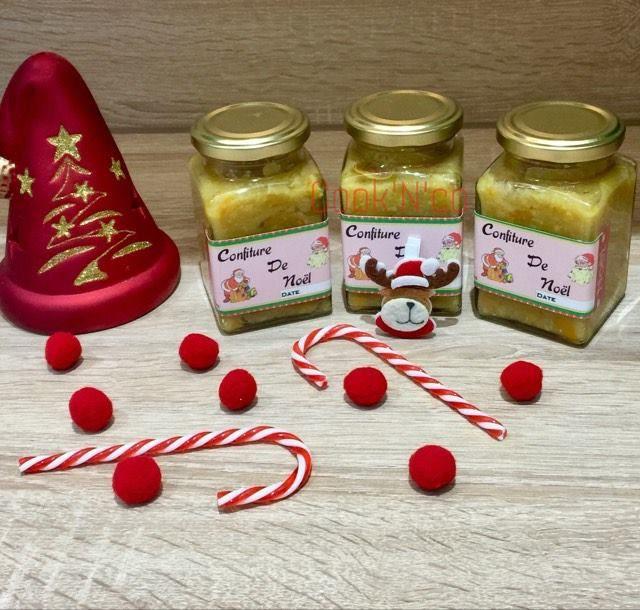 Confiture de Noël aux agrumes