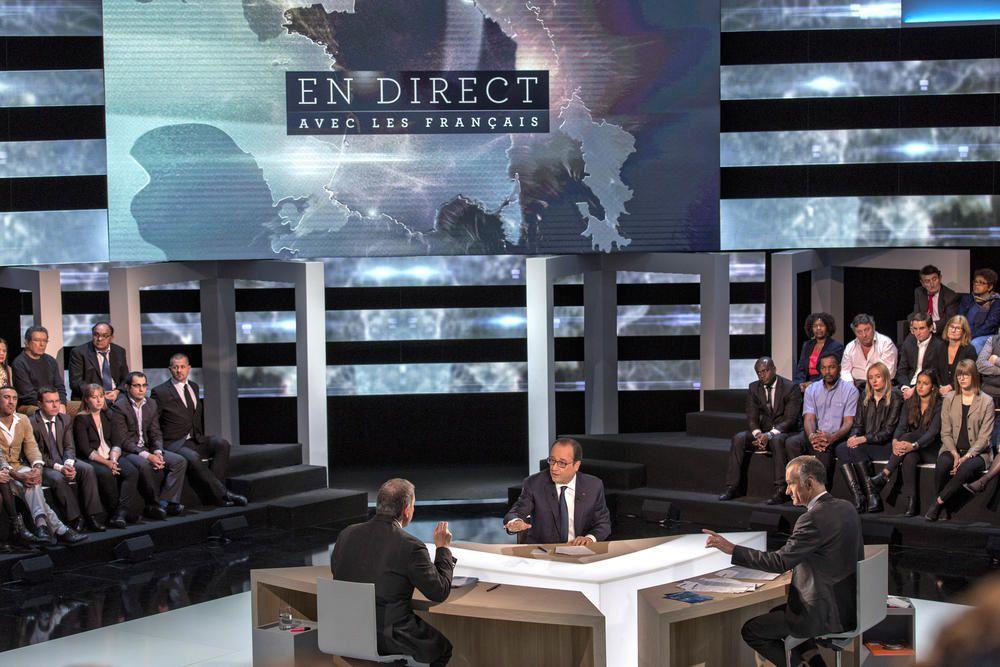 78% des Français « pas convaincus » par François Hollande sur TF1