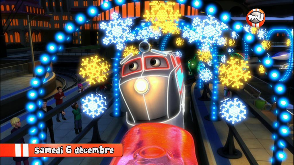 Inédit : « Chuggington, festivités de Noël » le samedi 6 décembre sur TFOU