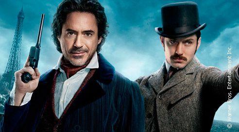 « Sherlock Holmes 2 » le dimanche 04 janvier à 20h55 sur TF1