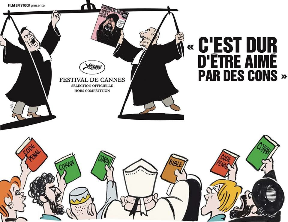 Charlie Hebdo : Canal+ Cinéma diffuse le documentaire « C'est dur d'être aimé par des cons » ce soir