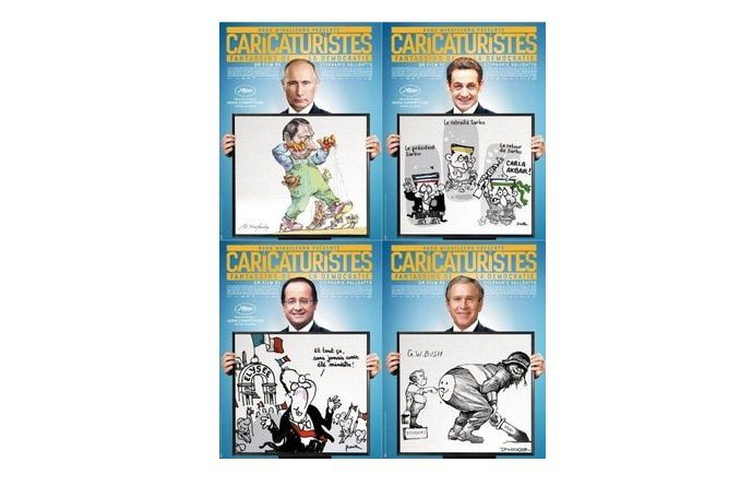 Hommage aux victimes de Charlie Hebdo : France 3 diffusera « Caricaturistes » vendredi