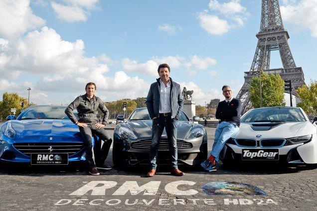"""Top Gear France"" (RMC Découverte/Visual Press Agency)"