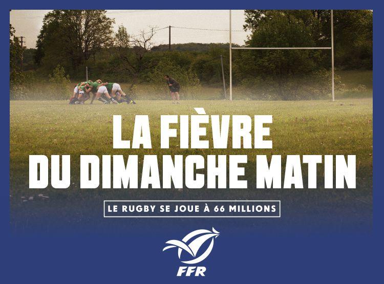 « Le rugby se joue à 66 millions » : La FFR lance sa nouvelle campagne de pub